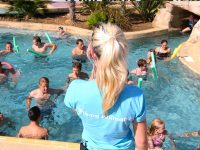 Aquagym Camping Deauville Normandie