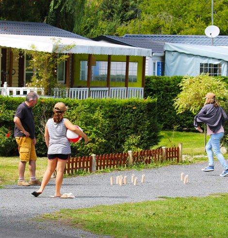 Activité au Camping La Vallée de Deauville
