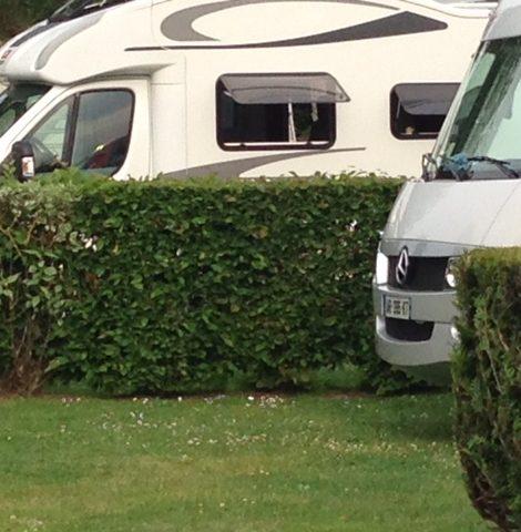 Emplacement camping-car à Deauville